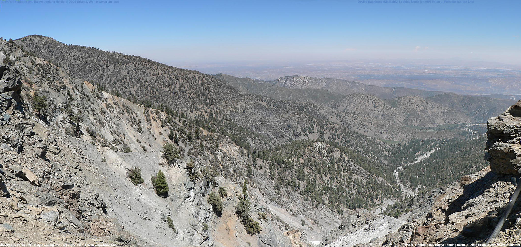 Hiking Mt Baldy The Continuum